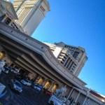Entrada do Caesars Palace em Las Vegas