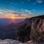 Amanhecer no Grand Canyon