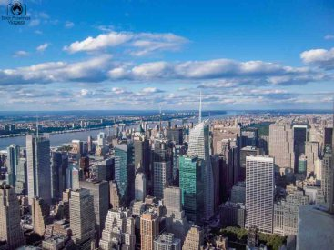 Vista Norte desde o Empire State em Nova York