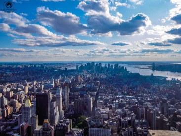Vista Sul desde o Empire State em Nova York