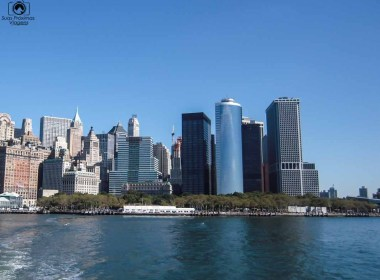 Vista do Skyline de Manhattan