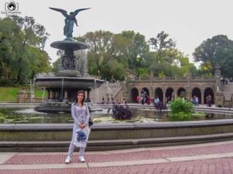 Bethesda Fountain no Central Park em Passeios em Nova York