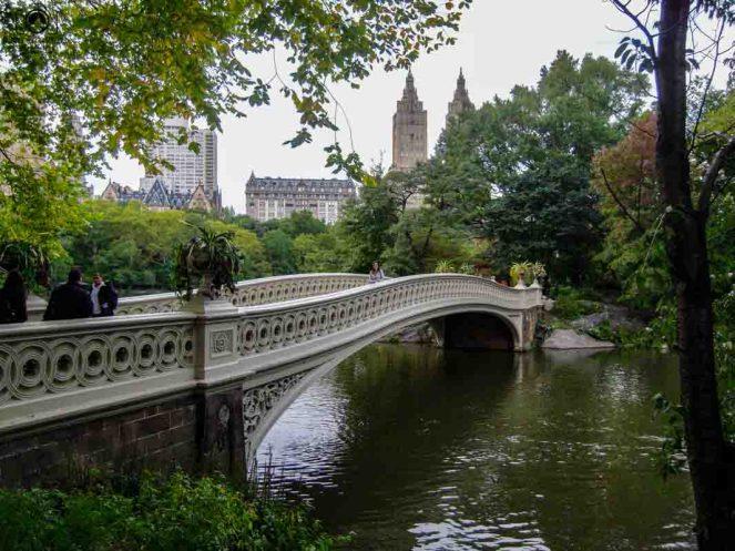 Ponte Bow Bridge no Central Park em o que fazer em Nova York