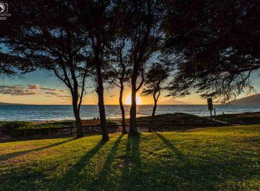 Pôr do Sol em Kihei em Maui no Havaí