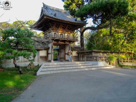 Jardim Japonês Golden Gate Parque em São Francisco