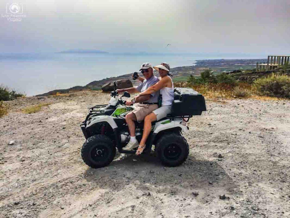 Viagem para Santorini - ATV