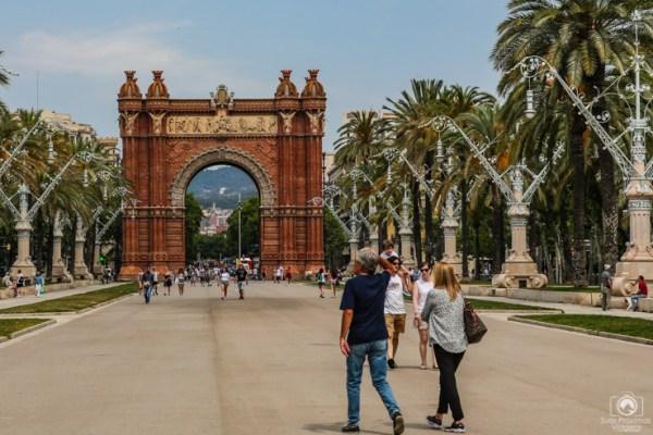 Arc de Triomf em as Melhores Dicas de Barcelona