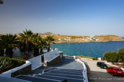 Vista da Praia Kalo Viladi desde o acesso do Pietra e Mare