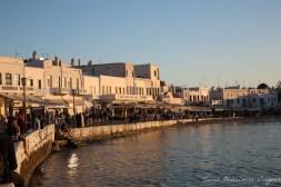 Área de Comércio em Chora em Mykonos