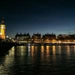 Vista do Big Ben à noite em O que fazer em Londres
