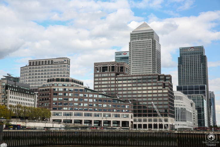 Centro Financeiro nas melhores dicas de viagem para Londres