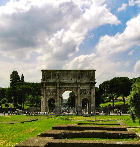 Arcos de Constantino em o que fazer em Roma 2