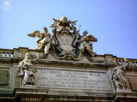 Topo da Fontana de Trevi em o que fazer em Roma