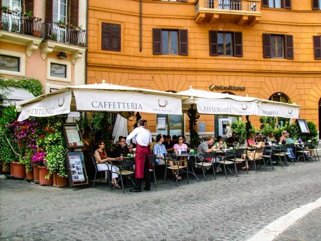 Restaurantes na Piazza Navona