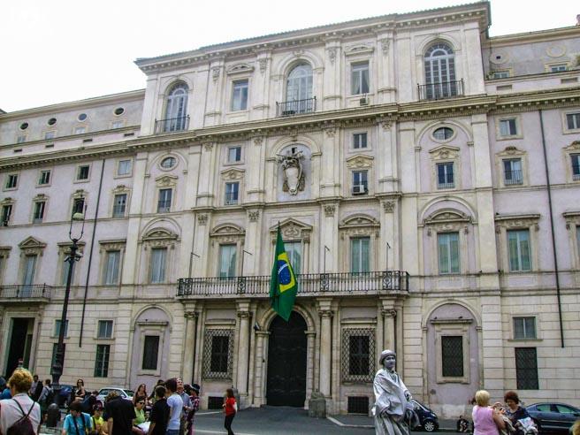 Consulado Brasileiro na Piazza Navona