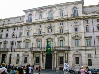 Consulado Brasileiro na Piazza Navona em o que fazer em Roma