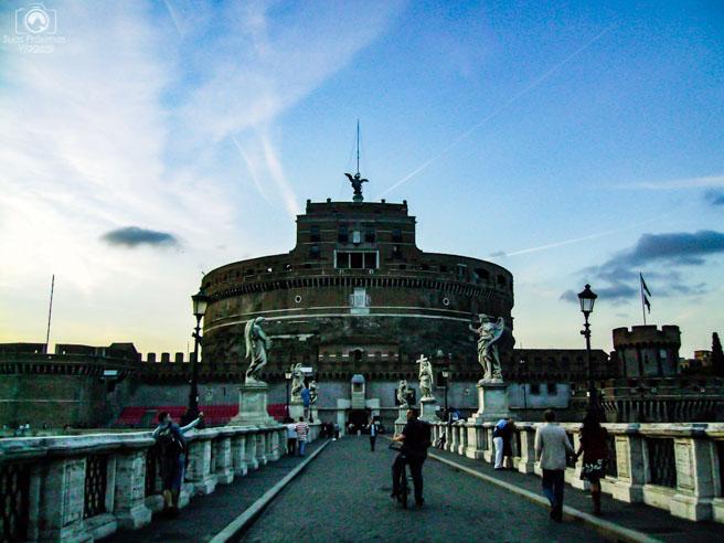 Castelo SantAngelo em o que fazer em Roma