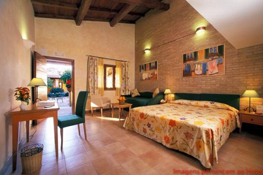 Quarto Hotel Santa Maria em Melhores Dicas de Roma