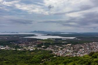 Vista da Baía Babitonga em Joinville