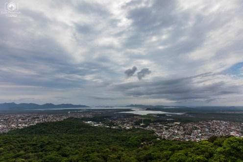 Vista desde o Mirante em Joinville