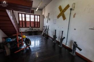 Maquinário de Manutenção da Estação em Joinville