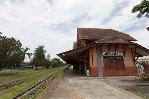 Saída da Estação em Joinville