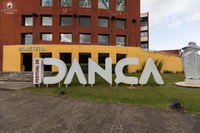 Símbolo do Festival de Dança em Joinville