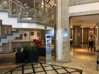 Saguão do Hotel Mercure em Joinville