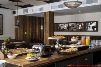Buffet Café da Manhã no Praktik em onde se hospedar em Barcelona