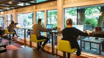 Lounge Safestay London em Onde Se Hospedar em Londres