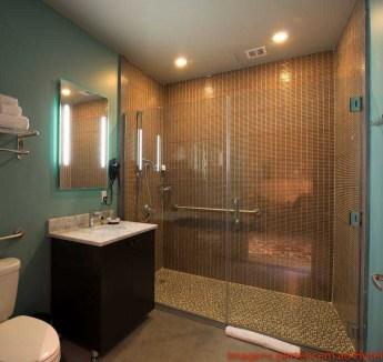 Banheiro do Quarto do Paper Factory Hotel em Onde Ficar em Nova York