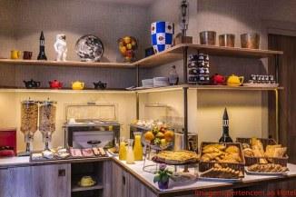 Buffet do Café da Manhã do Hôtel Comete Paris em Onde Se Hospedar em Paris