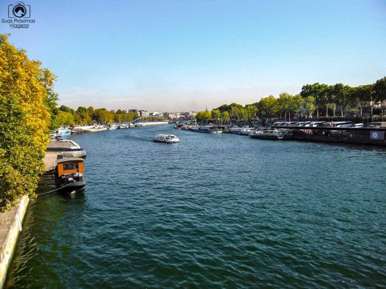 Rio Sena em Pontos Turísticos em Paris