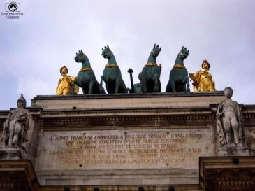 Arc Carroussel du Louvre em O que Fazer em Paris