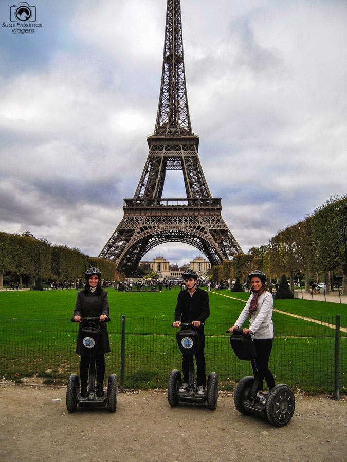 Passeio de Segway em Melhores Dicas de Paris