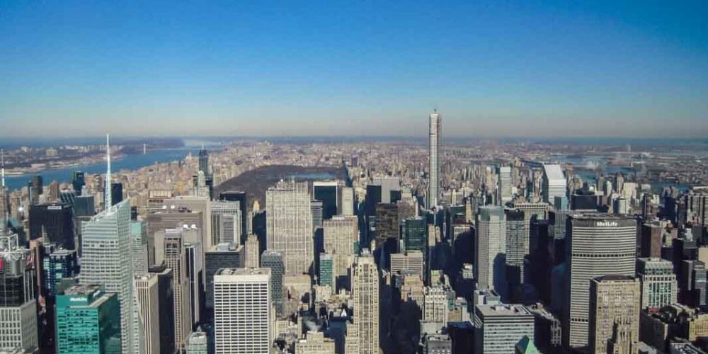 Vista desde The Rock em Onde se hospedar em Nova York