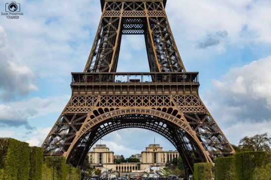 Base da Torre em o que fazer em Paris
