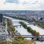 Sena visto da Torre em Dicas de Paris