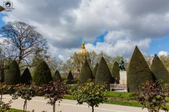 Museu de Rodan em uma Viagem para Paris