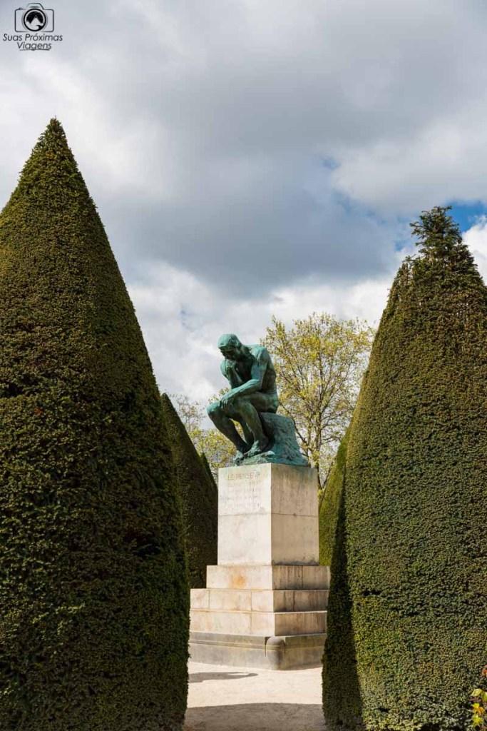 O Pensador de Rodin em O que Fazer em Paris