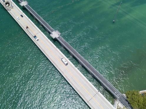 Vista Aérea US1 rumo a Key West