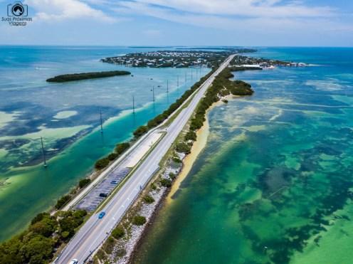US1 em Islamorada nos Florida Keys