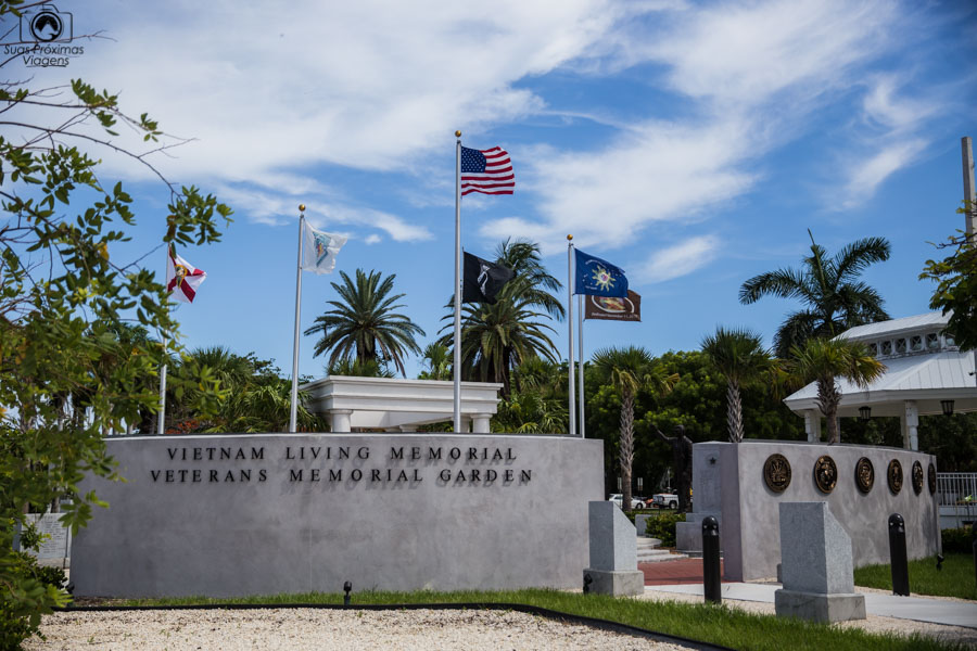 Memorial aos Veteranos da Guerra do Vietnam em Key West