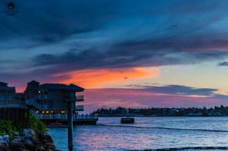 Golden Hour no Pier da Simonton St em Key West