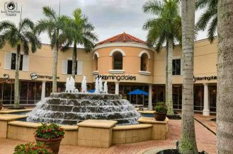 Fonte Central do Mirorar Outlet no Paradise Coast