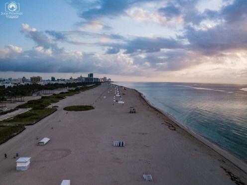 Amanhecer em Miami Beach