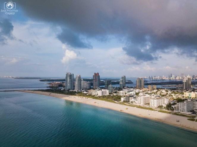 Miami Beach vista aérea
