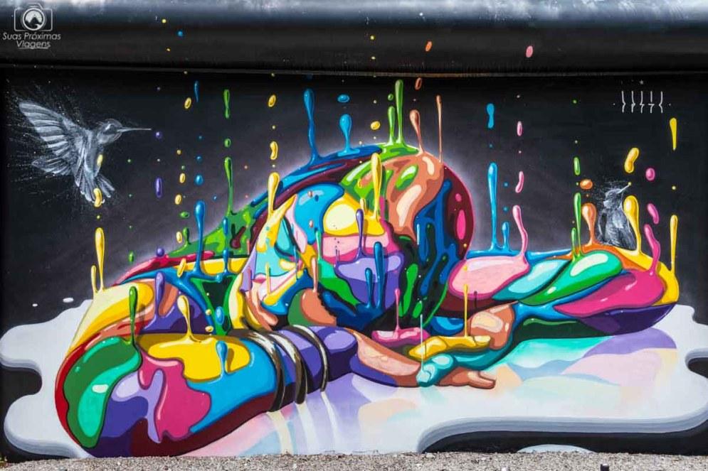 Exposição do Wynwood Walls em O que visitar em Miami