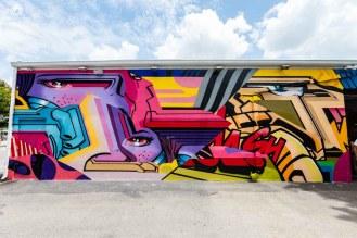 Painel no Wynwood Walls em Atrações em Miami