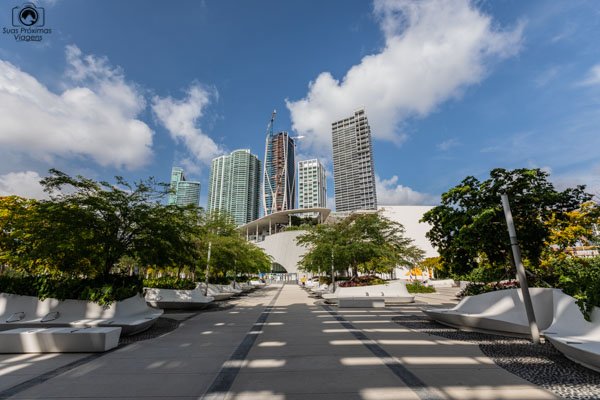 Imagem do Museum Park em Miami Flórida